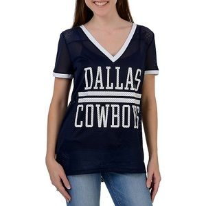 Victoria Secret Pink Dallas Cowboys V-Neck Jersey